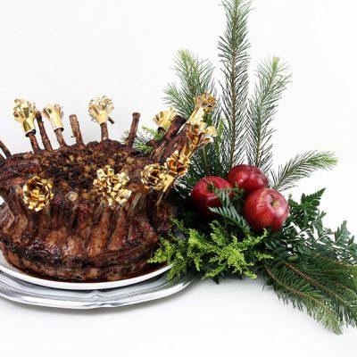 cena de navidad, costillar de cerdo en maria orsini