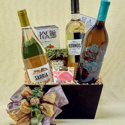 Canastas de vinos y licores