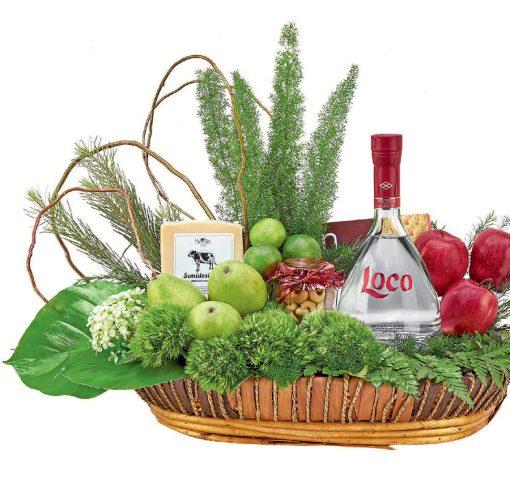 tequila loco canastas gourmet