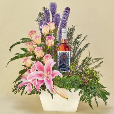 regalos de flores o vinos