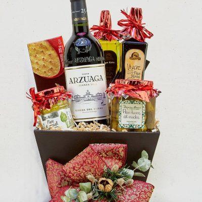 Canastas y regalos gourmet
