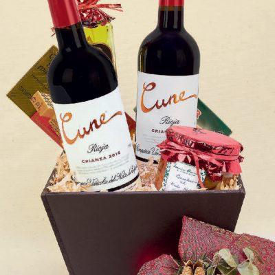 canastas de vinos y licores maria orsini