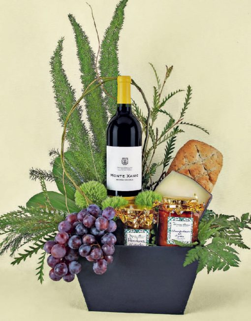 regalos de vinos y frutas