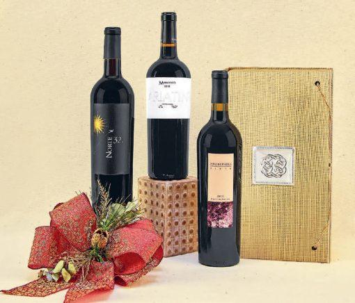 regalos con vinos mexicanos