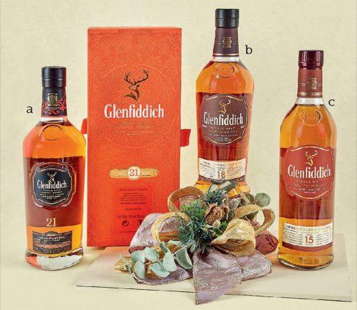 whisky glenfiddich para regalo