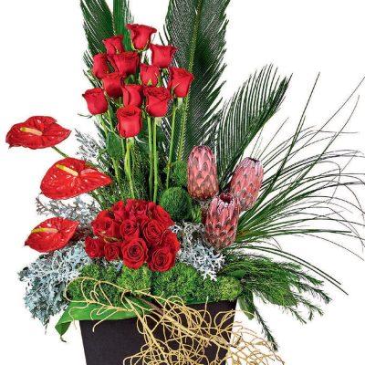 flores romanticas cdmx