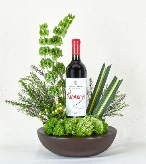 Regalos con vino