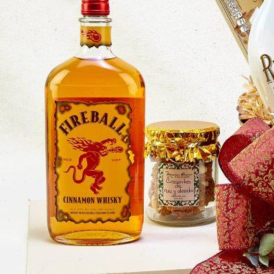 Whisky fireball para regalo