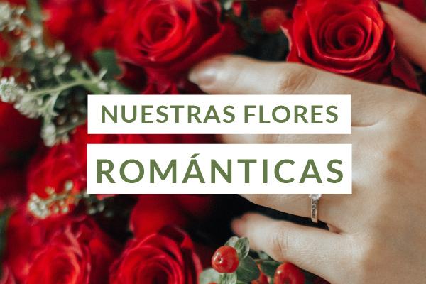 Flores romanticas a domicilio