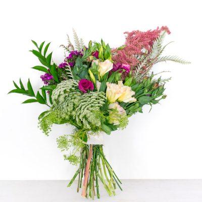 Bouquet de flores para regalar sencillo y moderno