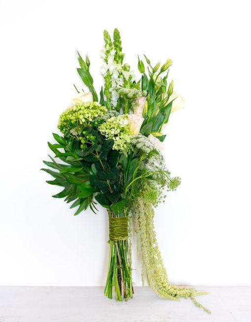 Bouquet de flores para regalar blanco
