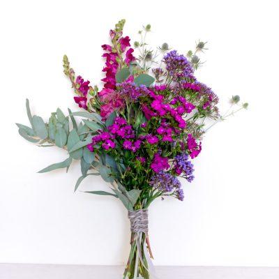 Bouquet de flores para regalar elegante y sencillo