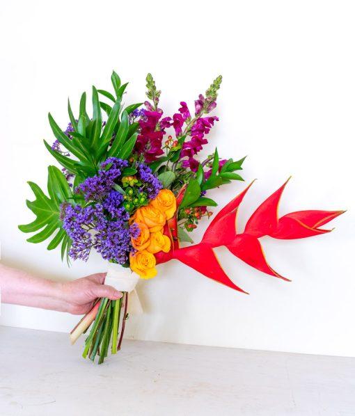 Bouquet de flores para regalar elegante
