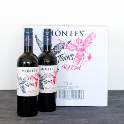 Vino chileno montes twins red blend