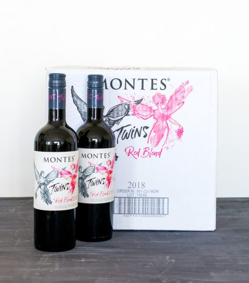 Vino chileno montes twins red blend