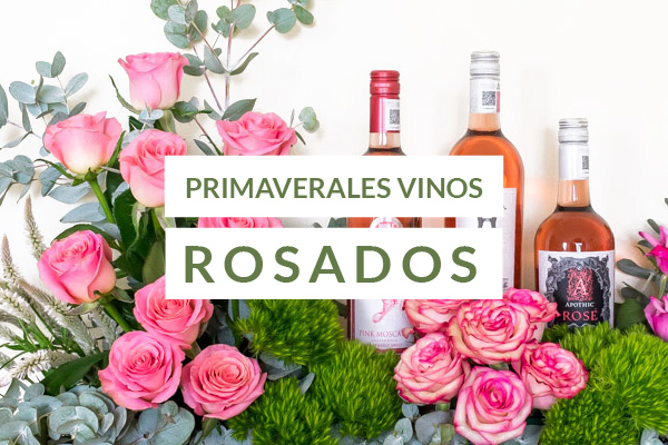 Regalos con vinos rosados