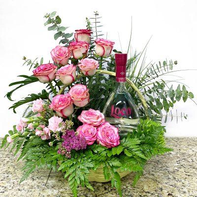 Flores con tequila para regalar