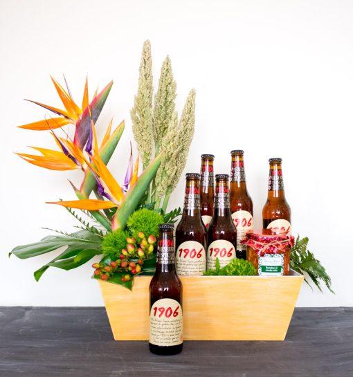 Regalos gourmet con cerveza, cerveza español en mexico