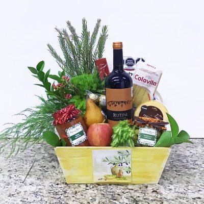 Regalos gourmet cdmx a domicilio, canastas con vinos y quesos
