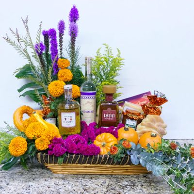 Arreglos florales en cdmx con cempasuchil